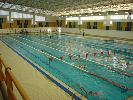 Indoor Pool, Military School Vari