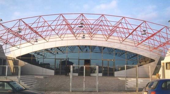 Gerakas Indoor Stadium Space Frame