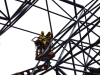 Space Frame Assembly by Crane