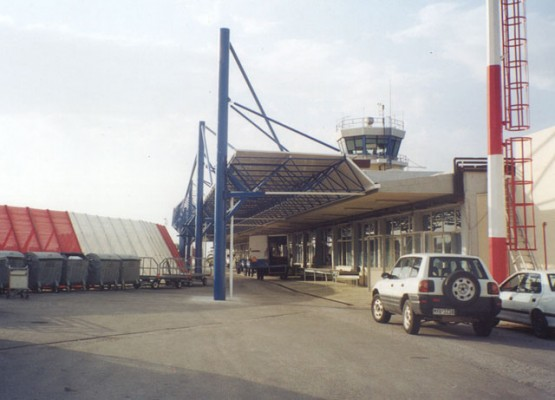 Lesvos Airport Space Frame