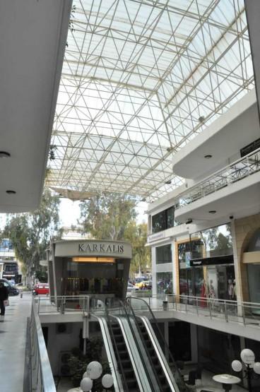 Premiera Shopping Center structure in Glyfada